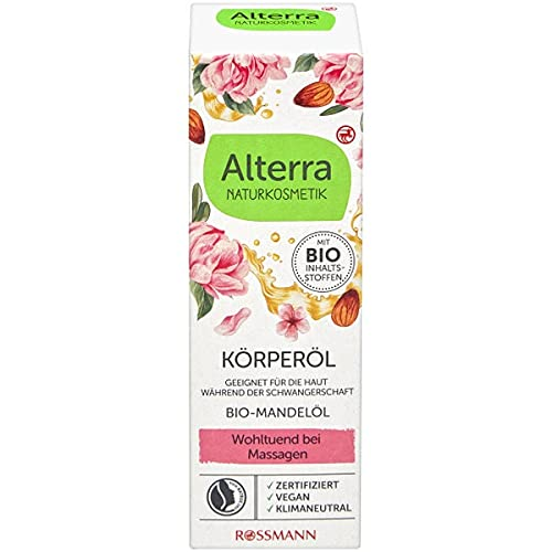 Alterra Körperöl Bio-Pfingstrose & Bio-Mandel, 100 ml