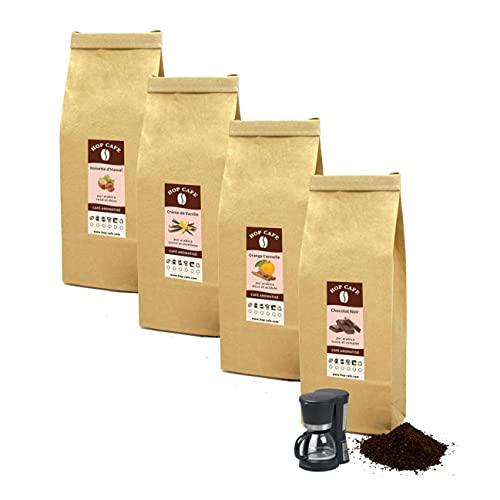 Offre Découverte 4 x 125g cafés moulus aromatisés...