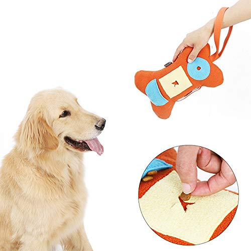 Hond Vocal Pluchen Speelgoed Bone Doll Training Play Sniff Pet Supplies Training Dog Companion Toy Snuiven Educatief Speelgoed