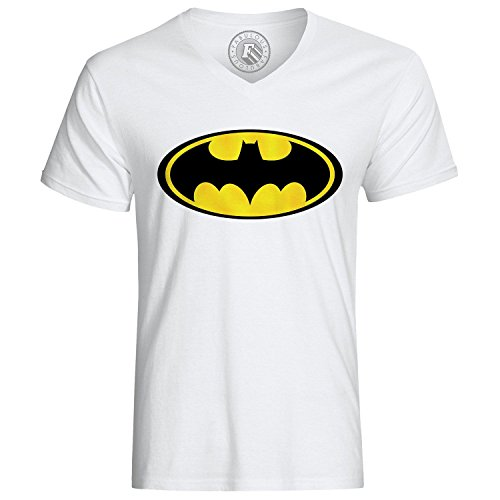 T-Shirt Batman Logo Yellow