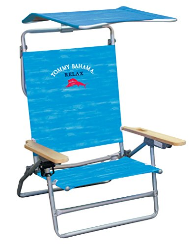 Tommy Bahama The Big Kahuna Beach Chair - Blue