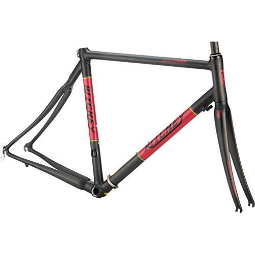 Ritchey Cadre Route Break-Away Carbone Pliable + Fourche Black/Red Taille Adulte Unisexe, Noir