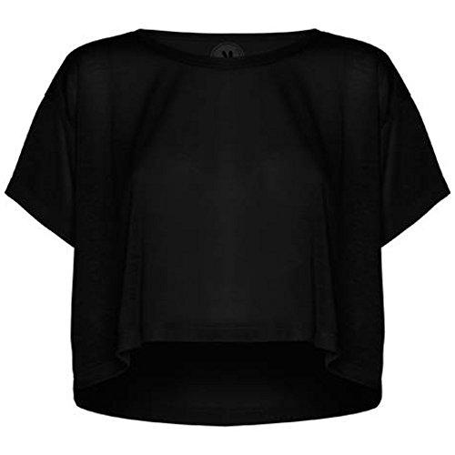 ROLY Camiseta de Mujer Cella, Negro (L/XL)