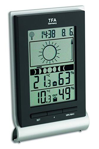 TFA Dostmann Xeno Draadloos weerstation, weersvoorspelling, binnentemperatuur, luchtvochtigheid, buitentemperatuur