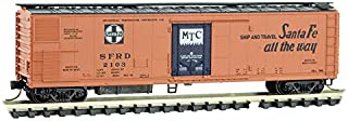 Micro-Trains MTL N-Scale 51ft Mechanical Reefer Car Santa Fe/ATSF/SFRD #2103