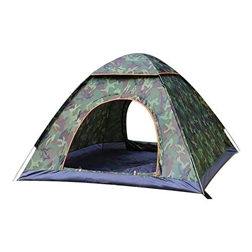 ZYF Outdoor camping folding Camping Waterproof Tents Beach Camping Showers Open Instant,Camouflage 3to4