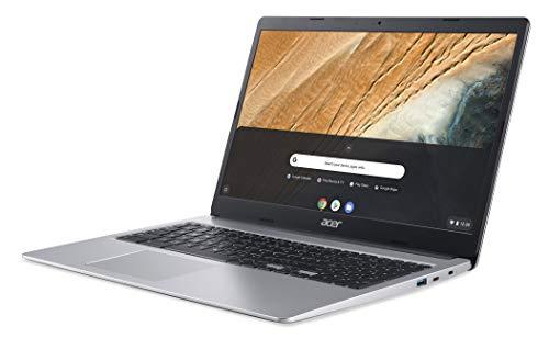 Acer Chromebook 315 (15,6 Zoll Full-HD IPS Touchscreen matt, 20mm flach, extrem lange Akkulaufzeit, schnelles WLAN, MicroSD Slot, Google Chrome OS) Silber - 3