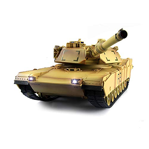 ZUOQUAN RC Tank, con Sonido, Torreta Giratoria Y Acción De Retroceso, Tanque...