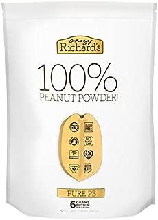 Crazy Richard's Pure PB, 100% Natural Peanut Powder, Non-GMO, Gluten-Free, 2 Pound Resealable Pouch