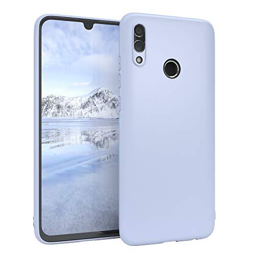 EAZY CASE Handyhülle Silikon mit Kameraschutz kompatibel mit Honor 10 Lite in Himmelblau Blau, Ultra dünn, Slimcover, Silikonhülle, Hülle, Softcase, Backcover