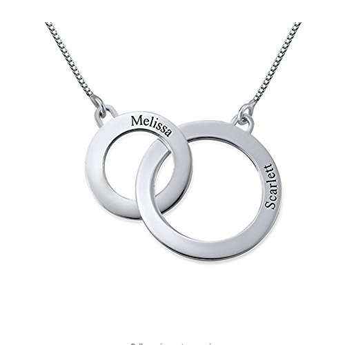 Sterling Silver Girls .8mm Philadelphia City Of Brotherly Love Two Sided Circle Pendant Necklace