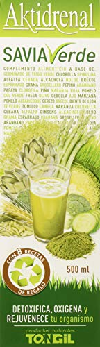 Tongil Aktidrenal Savia Verde Complemento Alimenticio - 500 ml