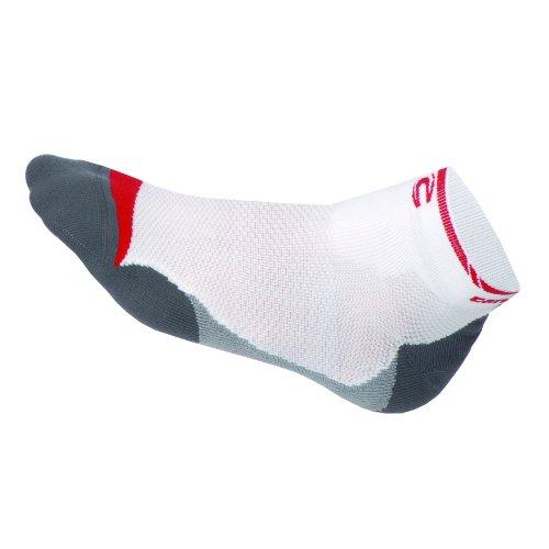 Cannondale Le Carbon Kurze Herren-Socken, Rot, Größe M