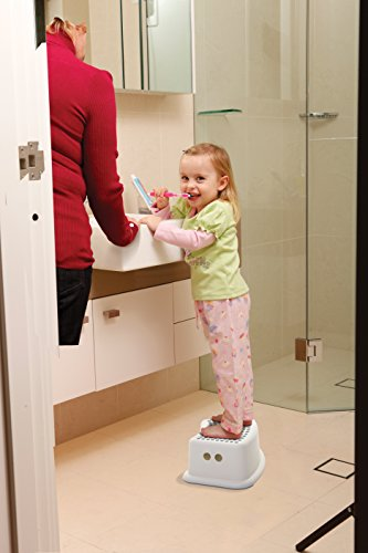 Dreambaby Step Stool for Toddlers and Kids - Use for Potty Training and to Wash Hands- Great for in Bathroom Kitchen and Crawling into Bed (1 Count) (1 Count)