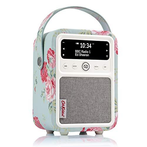 VQ Monty DAB/DAB+ Digital- und FM-Radio mit Bluetooth und Weckfunktion - Cath Kidston Antique Rose