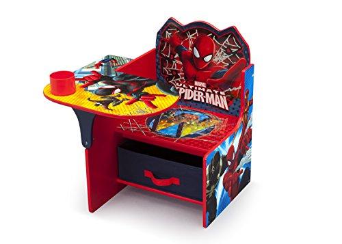 Delta Children Chair Desk With Storage Bin, Spider-Man