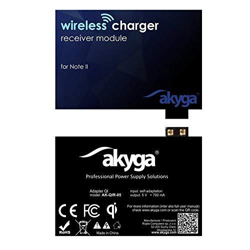 Akyga AK-QIR-05 QI draadloze oplader ontvanger ontvanger voor Note 2
