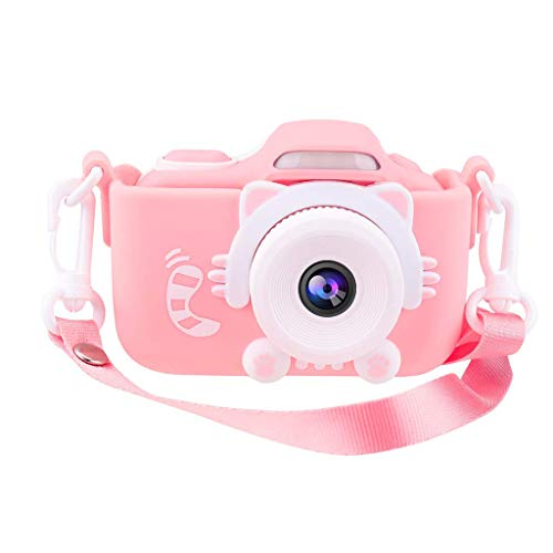 Lowest Prices! Glumes Kids Camera for Girls Gifts HD 2.0 Inches Screen Kids Video Camera Anti-Drop C...
