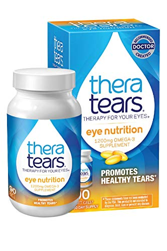 TheraTears 1200mg Omega 3 Supplemen…