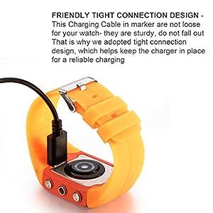 Guangcailun Cargador USB de línea de Datos por Cable Reloj de reemplazo Accesorio para M430 Cargador para Polar M430 Reloj