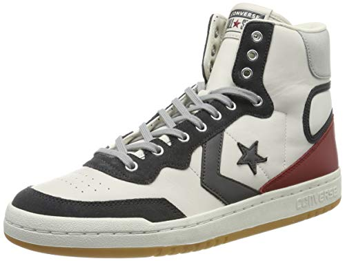 Converse Lifestyle Fastbreak Hi, Zapatillas Unisex Adulto, Multicolor (Light Gray/Storm Wind 081), 44.5 EU