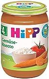 Hipp Bio Gemüse Gemüse-Risotto, 6er Pack (6 x 190 g) 4130-01