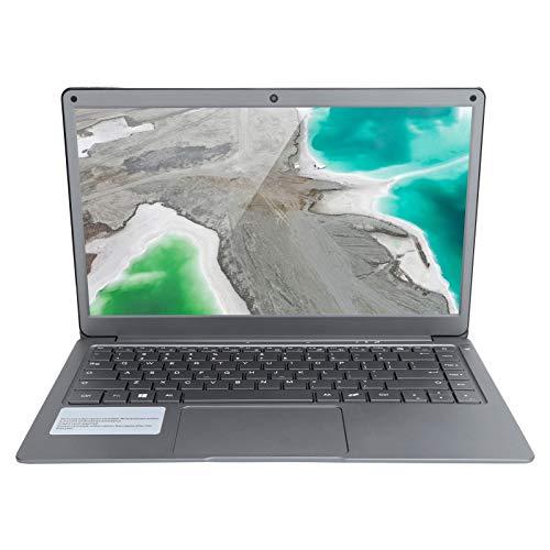 Computadora portátil Jumper Tech EZbook X3, Mini computadora portátil portátil, Pantalla IPS FHD de 13.3 '' 1920 x 1080, computadora para Intel Dual Core,RAM 4GB + ROM 64GB DDR3,para Windows10(Plata)