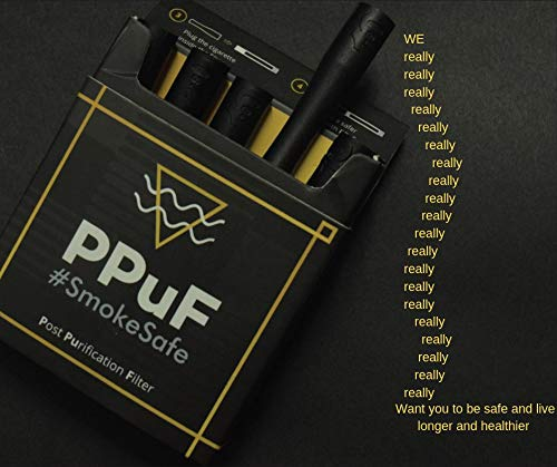 Log 9 Materials PPuF - Advance Purification Cigarette Filter, Reusable Upto 4 times - Pack of 6