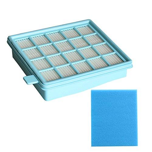 Reyee, set di filtri HEPA per aspirapolvere Philips FC8470, FC8471, FC8472