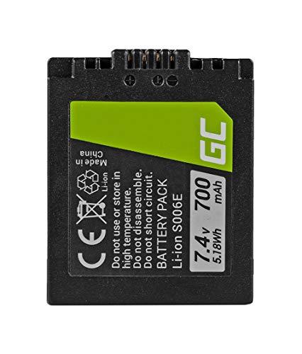 Green Cell® CGA-S006 CGA-S006E CGR-S006 CGR-S006E DMW-BMA7 Batería para Panasonic Lumix FZ7...