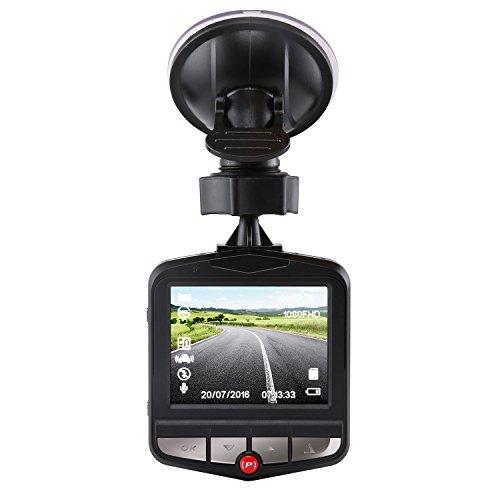 Z-Edge 2.4- inch 135¡ã View Angle, Full HD 1080P with G-Sensor Car Dashboard Camera Bundle with 16GB TF Card (Black)