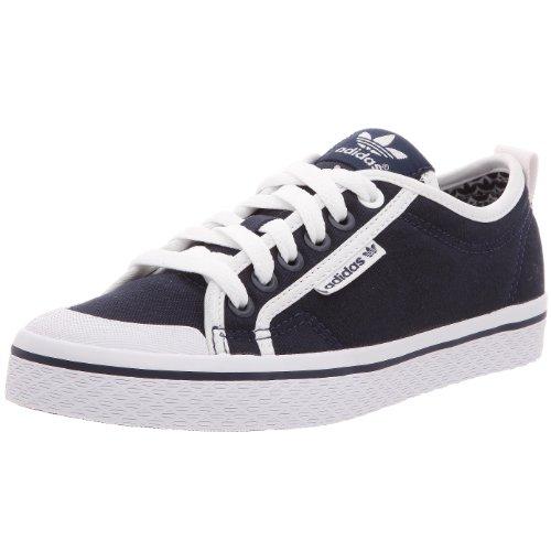 adidas Honey Low, Basket Mode Damen, Blau - Indigo foncé/Indigo foncé/Indigo foncé - Größe: 40