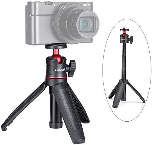 Zhiyou Treppiede Telescopico MT-08 con Testa a Sfera per Smartphone Videocamere Vlogging