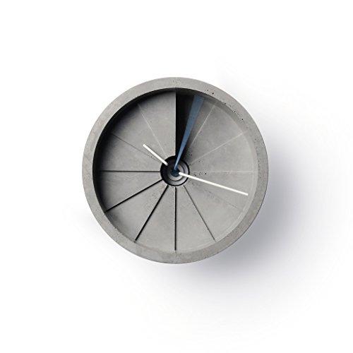 22Design Studio 4th Dimension Wall Clock- Gray/Red Hands