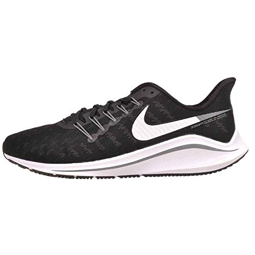 Nike Air Zoom Vomero 14 (4E), Zapatillas de Atletismo para Hombre, Multicolor (Black/White/Thunder Grey 000), 45 EU