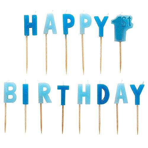 amscan 99007841. Birthday Boy Pick Kerzen