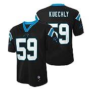 Luke Kuechly Carolina Panthers Black Mid Tier Kids Jersey