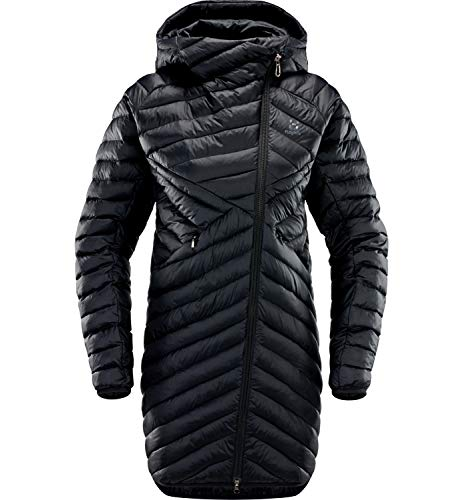 Haglöfs Winterjacke Frauen Parka Dala Mimic Wärmend, Atmungsaktiv, Wasserabweisend True Black M M - Empty for carryovers -