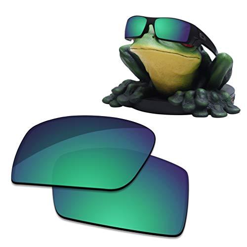 Acefrog Lentes de repuesto polarizadas con revestimiento AR de 1,4 mm de grosor para gafas de sol Oakley Gascan