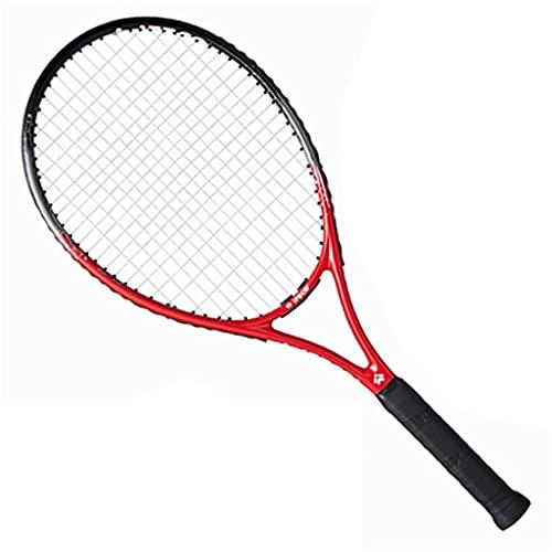 Traje de Raqueta de Tenis para Principiantes, Rosa con Pelota de Rebote de Entrenamiento Individual, Traje de Raqueta de Tenis Profesional Integrado en Carbono