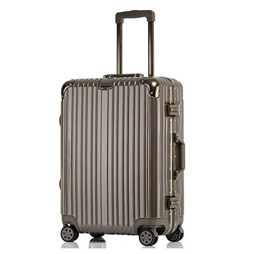 Affordable JYY-suitcases Trolley Carry On Hand Cabin Luggage, Hard Shell Travel,Brown, Etc, Mult...