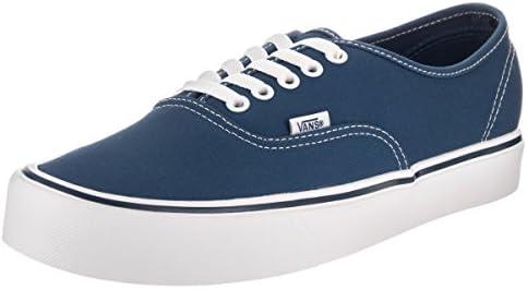 Vans Mens Authentic Lite C Canvas Low Top Skateboarding Shoes Navy 7 Medium D product image