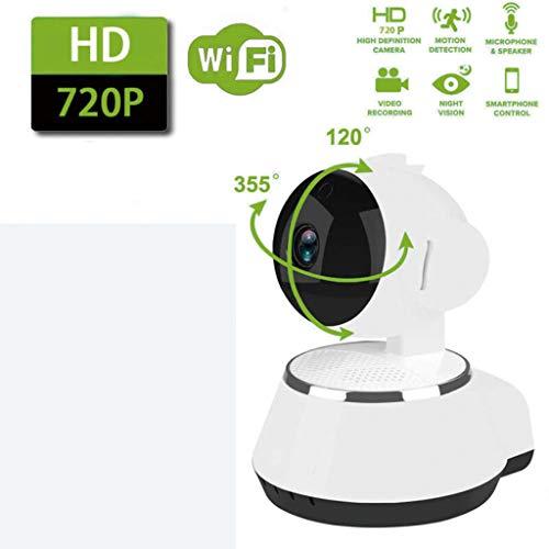 TSAR003 Mini Monitor WiFi Cámara IP Sistema De Seguridad Inteligente para El Hogar con Visión Nocturna 720P HD, Servicio En La Nube, para Monitor De Bebé/Mascota/Niñera