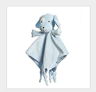 Jeyie Funny Bath Toy Cute Cotton Plush Towel Soft Hand Towel Baby Comforter Toys (Blue)