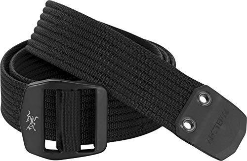 Arc'teryx Conveyor Belt   Heavy duty webbing belt with metal buckle.   Black/Black, Large