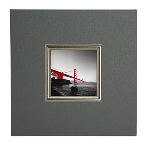 ERGO-PAUL gouden rode rok, papier/eco leder/hout, 40,0 x 40,0 x 1,5 cm