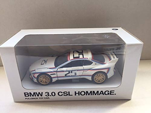 BMW Miniatur Pullback Car Aufziehauto Rückziehauto / 3.0 CSL / X6 M / i8 / M6 / 1:41 (3.0 CSL)