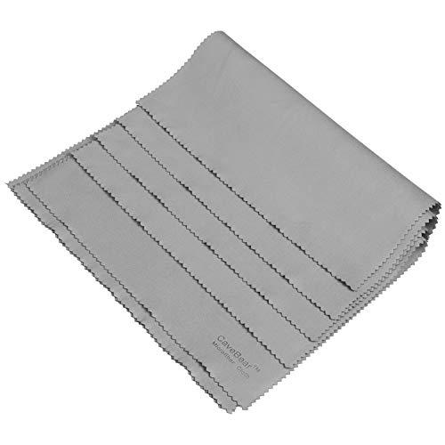 Microfiber Gun Cleaning Cloth Gray (4 -Pack), Professional...