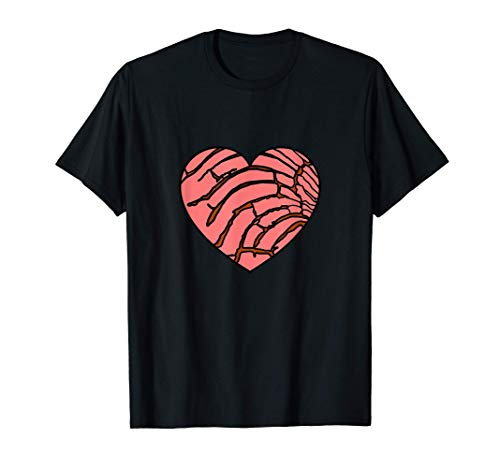 Concha Mexican Bread Food Lover Sweets Pan Dulce T-Shirt