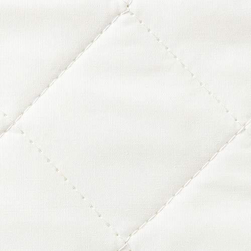 無印良品麻わたベッドパッド・ゴム付/S100×200cm82220407シングル